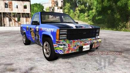 Gavril D-Series wo-class itasha for BeamNG Drive