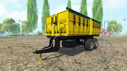 PTS 9 yellow v2.0 for Farming Simulator 2015