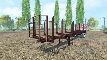 Logging semi-trailer for Farming Simulator 2015
