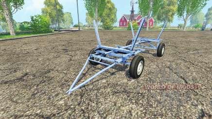 Homemade small trailer for Farming Simulator 2015