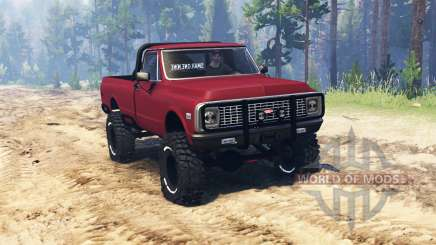 Chevrolet C10 Cheyenne 1972 for Spin Tires