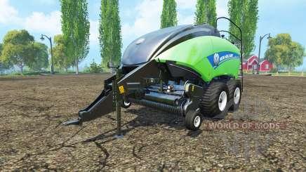 New Holland BigBaler 1290 gras bale v3.0 for Farming Simulator 2015
