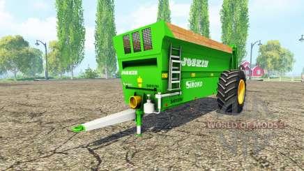 JOSKIN Siroko 4010-9V v2.0 for Farming Simulator 2015