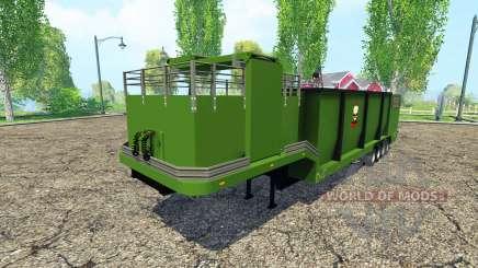 Separarately semi-trailer v1.1 for Farming Simulator 2015