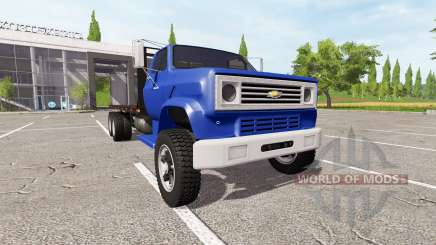 Chevrolet C70 flatbed for Farming Simulator 2017
