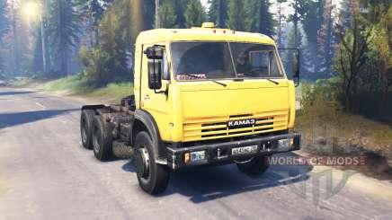 KamAZ 54115 v7.0 for Spin Tires