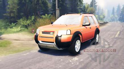 Land Rover Freelander for Spin Tires