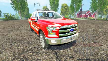Ford F-150 Division of Fire for Farming Simulator 2015
