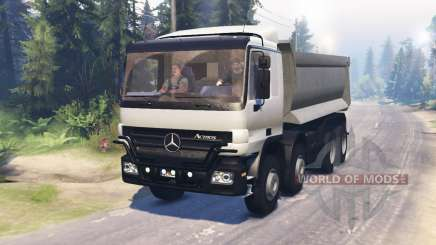 Mercedes-Benz Actros (MP2) 8x8 v0.9 for Spin Tires