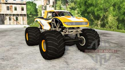 CRD Monster Truck v1.01 for BeamNG Drive