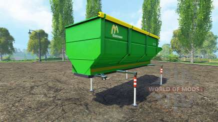 Gustrower GTU 25 for Farming Simulator 2015