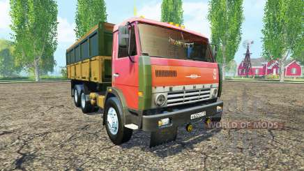 KamAZ 55102 for Farming Simulator 2015