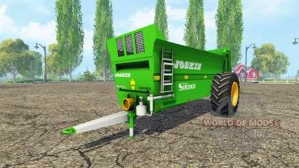 JOSKIN Siroko 4010-9V for Farming Simulator 2015