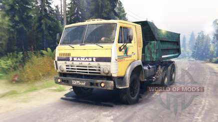 KamAZ-55118 for Spin Tires