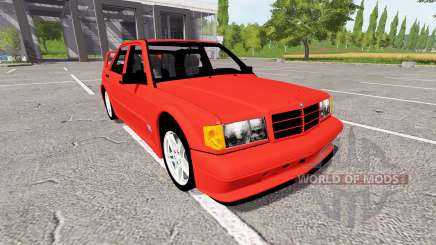 Mercedes-Benz 190E (W201) Evolution II for Farming Simulator 2017