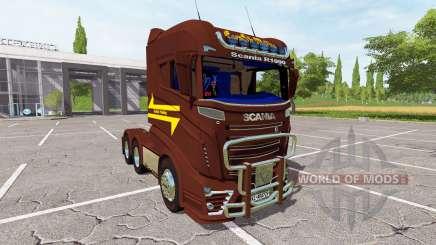 Scania R1000 3-axis for Farming Simulator 2017