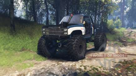 Chevrolet K10 1982 v3.0 for Spin Tires
