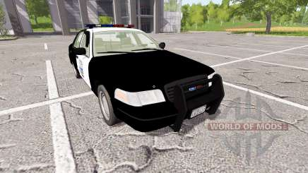 Ford Crown Victoria Police for Farming Simulator 2017