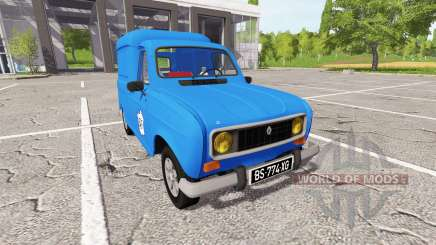 Renault 4 EDF for Farming Simulator 2017
