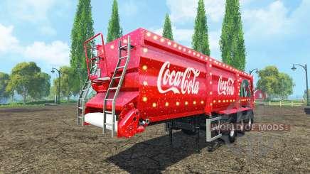 Krampe SB 30-60 Coca-Cola v2.2 for Farming Simulator 2015