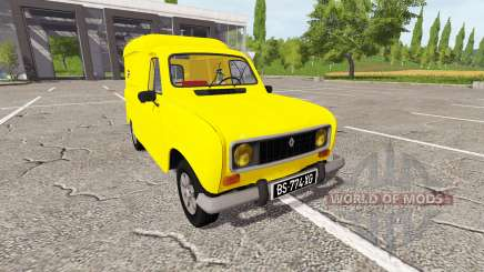 Renault 4 fourgonnette for Farming Simulator 2017