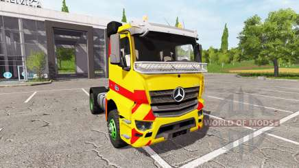 Mercedes-Benz Antos for Farming Simulator 2017