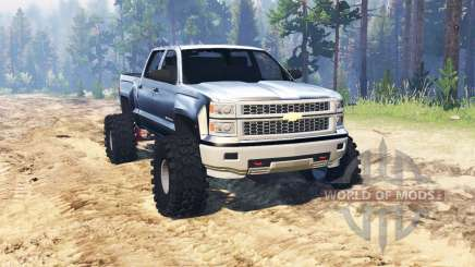 Chevrolet Silverado 2014 for Spin Tires