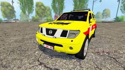 Nissan Pathfinder (R51) Belgian MUG Klina for Farming Simulator 2015