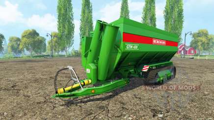 BERGMANN GTW tracks for Farming Simulator 2015