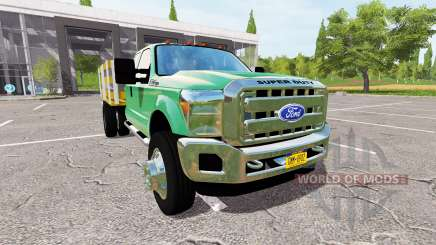 Ford F-550 Stakebed for Farming Simulator 2017