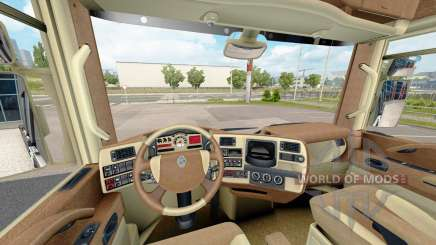The interiors of Renault trucks for Euro Truck Simulator 2