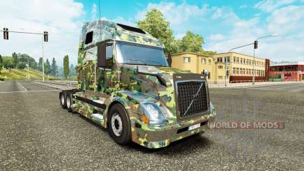 Army skin for Volvo truck VNL 670 for Euro Truck Simulator 2
