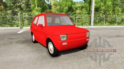 Fiat 126p v4.0 for BeamNG Drive
