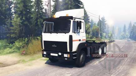 MAZ 64255 for Spin Tires