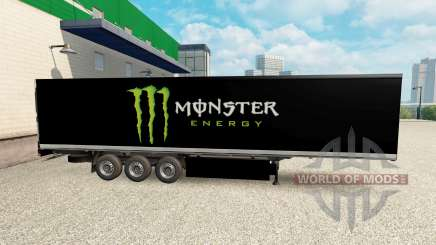 Skin Monster Energy for semi for Euro Truck Simulator 2
