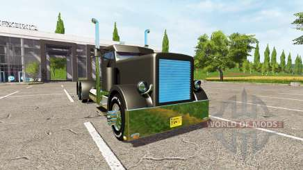 Peterbilt 388 custom for Farming Simulator 2017