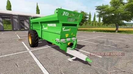 JOSKIN Tornado3 v2.0 for Farming Simulator 2017
