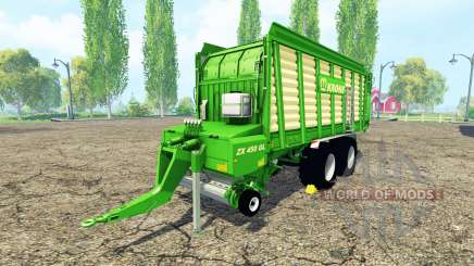 Krone ZX 450 GL v3.0 for Farming Simulator 2015