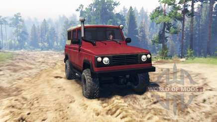 UAZ 3172 for Spin Tires