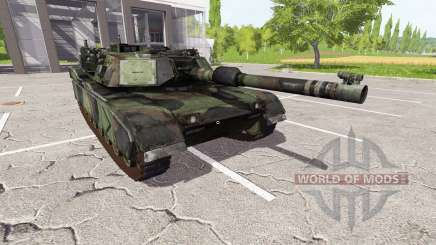 M1A1 Abrams for Farming Simulator 2017