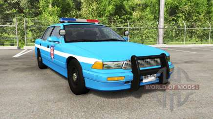 Gavril Grand Marshall state patrol for BeamNG Drive