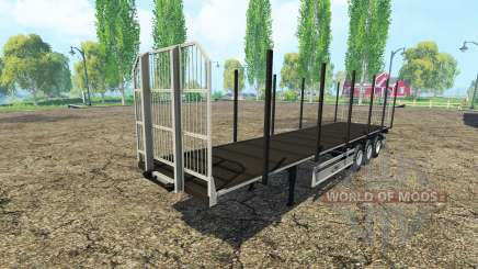 Multipurpose semi-trailer Fliegl v3.0 for Farming Simulator 2015