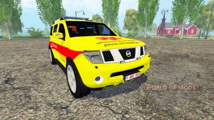 Nissan Pathfinder (R51) Belgian MUG Harbor for Farming Simulator 2015