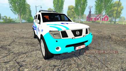 Nissan Pathfinder (R51) Belgian Local Police for Farming Simulator 2015