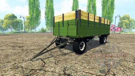 ITAS flatbed trailer for Farming Simulator 2015