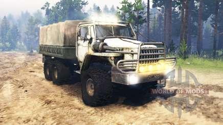 Ural 4320-10 USSR for Spin Tires