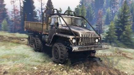 Ural 4320 v8.0 for Spin Tires