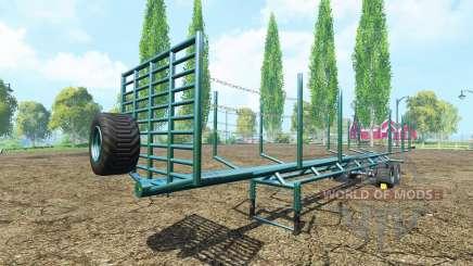 A timber semi-trailer v1.1 for Farming Simulator 2015
