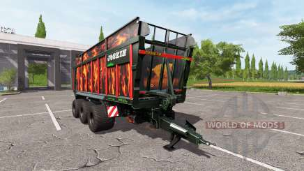 JOSKIN DRAKKAR 8600 flame for Farming Simulator 2017