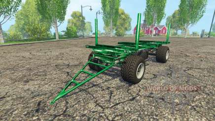 Zaccaria wood trailer for Farming Simulator 2015